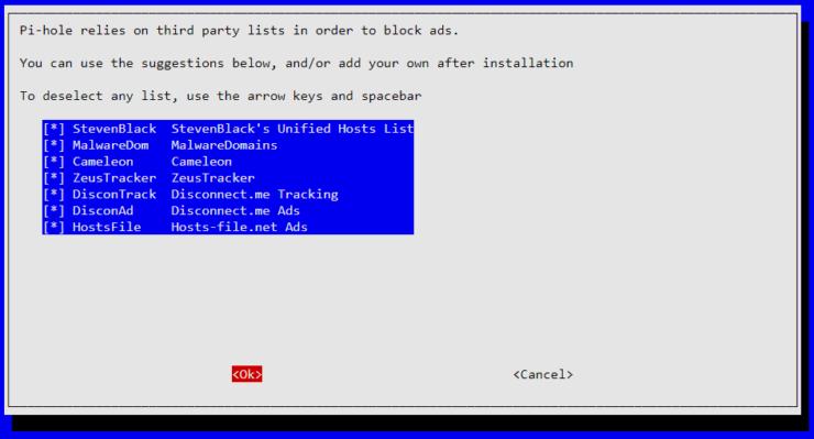 Activer les listes de blocage tierces